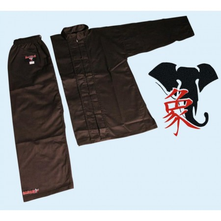 Uniforme Kung Fu ALLIEVO BARRUS nera
