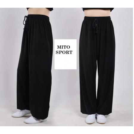 Pantaloni TaiChi Chuan/Kung Fu seta e cotone